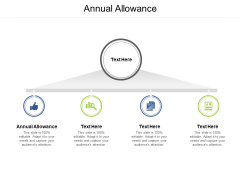 Annual Allowance Ppt PowerPoint Presentation Outline Icon Cpb