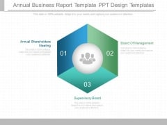 Annual Business Report Template Ppt Design Templates