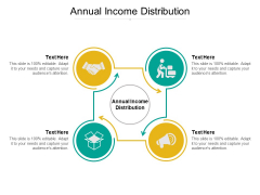 Annual Income Distribution Ppt PowerPoint Presentation Professional Template Cpb