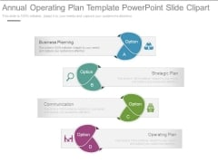 Annual Operating Plan Template Powerpoint Slide Clipart