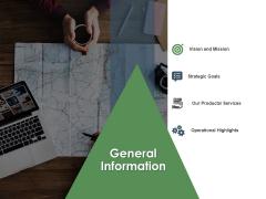 Annual Operative Action Plan For Organization General Information Ppt Slides Demonstration PDF