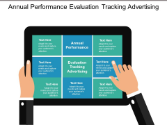 Annual Performance Evaluation Tracking Advertising Ppt PowerPoint Presentation Model Ideas