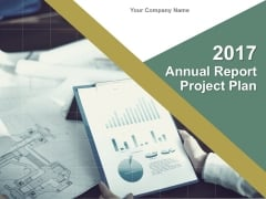 Annual Report Project Plan Ppt Slide
