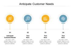 Anticipate Customer Needs Ppt PowerPoint Presentation Summary Maker Cpb