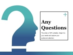 Any Questions Ppt PowerPoint Presentation Professional Diagrams