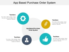 App Based Purchase Order System Ppt PowerPoint Presentation Layouts Background Designs Cpb Pdf