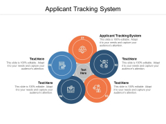 Applicant Tracking System Ppt PowerPoint Presentation Pictures Information Cpb
