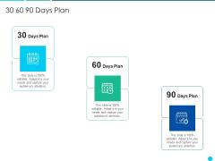 Application Amalgamation Tactics Enhance Financial Scope Customer Base 30 60 90 Days Plan Topics PDF