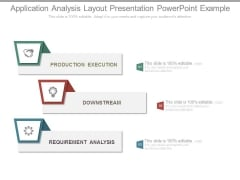 Application Analysis Layout Presentation Powerpoint Example