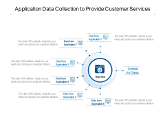 Application Data Collection To Provide Customer Services Ppt PowerPoint Presentation File Mockup PDF