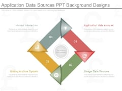 Application Data Sources Ppt Background Designs