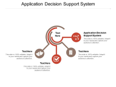 Application Decision Support System Ppt PowerPoint Presentation Layouts Introduction Cpb Pdf