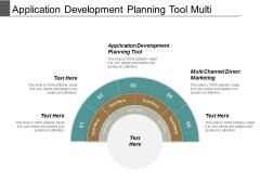 Application Development Planning Tool Multi Channel Direct Marketing Ppt PowerPoint Presentation Ideas Gridlines