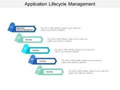 Application Lifecycle Management Ppt PowerPoint Presentation Layouts Good Cpb