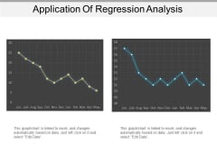 Application Of Regression Analysis Ppt PowerPoint Presentation Show Good