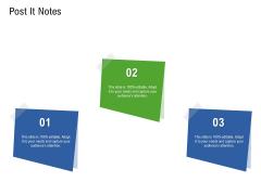 Application Performance Management Post It Notes Ppt Slides Show PDF