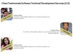 Application Technology Client Testimonials Software Technical Development Services Watts Rules PDF