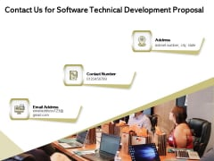 Application Technology Contact Us For Software Technical Development Proposal Topics PDF