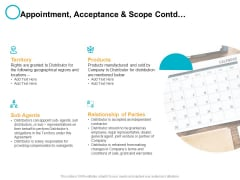 Appointment Acceptance And Scope Contd Ppt PowerPoint Presentation Layouts Icon