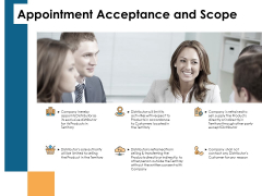 Appointment Acceptance And Scope Team Ppt PowerPoint Presentation Example