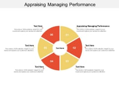 Appraising Managing Performance Ppt PowerPoint Presentation Icon Themes Cpb