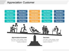Appreciation Customer Ppt PowerPoint Presentation Summary Maker Cpb