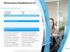Approaches Talent Management Workplace Performance Feedback Icons PDF