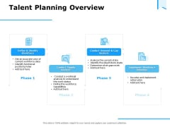 Approaches Talent Management Workplace Talent Planning Overview Diagrams PDF