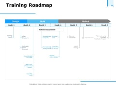 Approaches Talent Management Workplace Training Roadmap Template PDF