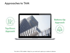 Approaches To Tam Ppt PowerPoint Presentation Pictures Sample