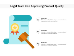 Approval Of Product Quality Vector Icon Ppt PowerPoint Presentation Show Background PDF