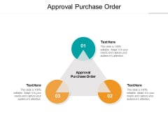 Approval Purchase Order Ppt PowerPoint Presentation Professional Format Ideas Cpb
