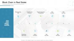 Architecture Blockchain System Block Chain In Real Estate Clipart PDF