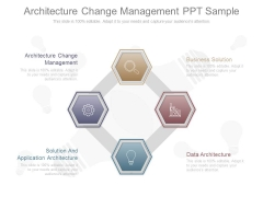 Architecture Change Management Ppt Sample