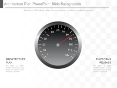 Architecture Plan Powerpoint Slide Backgrounds