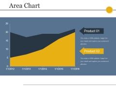 Area Chart Ppt PowerPoint Presentation Slides Show