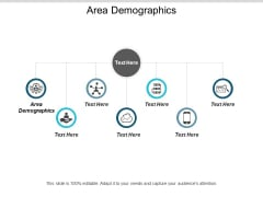 Area Demographics Ppt PowerPoint Presentation Professional Design Ideas Cpb