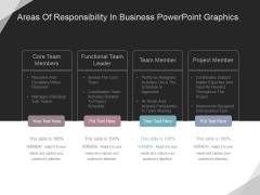 Areas Of Responsibility In Business Ppt PowerPoint Presentation Infographics