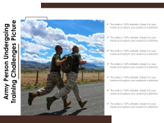 Army Person Undergoing Training Challenges Picture Ppt PowerPoint Presentation File Picture PDF