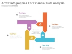 Arrow Infographics For Financial Data Analysis Powerpoint Template