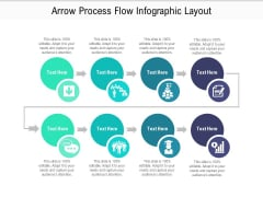 Arrow Process Flow Infographic Layout Ppt PowerPoint Presentation File Rules PDF