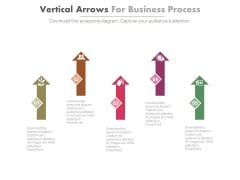 Arrows For Corporate Business Strategy Powerpoint Template
