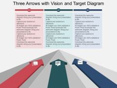 Arrows Target Free PowerPoint Diagram