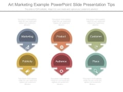 Art Marketing Example Powerpoint Slide Presentation Tips