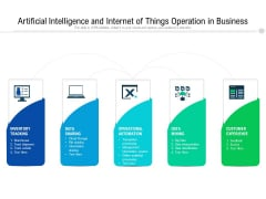 Artificial Intelligence And Internet Of Things Operation In Business Ppt PowerPoint Presentation Portfolio Format Ideas PDF