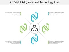 Artificial Intelligence And Technology Icon Ppt PowerPoint Presentation Pictures Themes