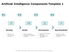 Artificial Intelligence Components Design Ppt Summary Introduction PDF
