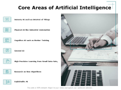 Artificial Intelligence Core Areas Of Artificial Intelligence Ppt Layouts Example Topics PDF