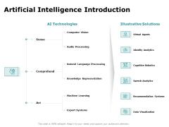 Artificial Intelligence Introduction Ppt File Portrait PDF