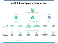 Artificial Intelligence Introduction Ppt PowerPoint Presentation File Display
